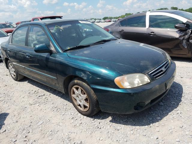 KIA Spectra salvage cars for sale: 2002 KIA Spectra