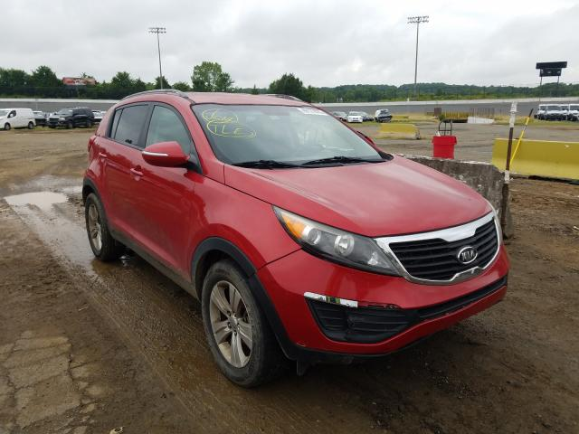 Salvage cars for sale from Copart Concord, NC: 2011 KIA Sportage L