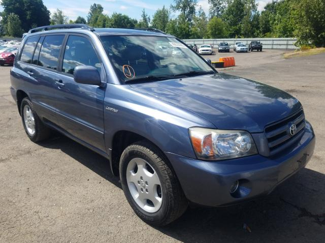 Salvage cars for sale from Copart Portland, OR: 2004 Toyota Highlander