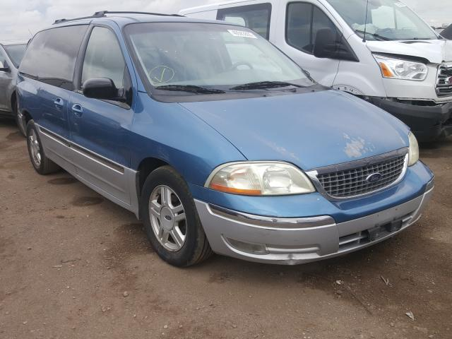 salvage title 2002 ford windstar extended 3 8l for sale in brighton co 40583800 a better bid car auctions