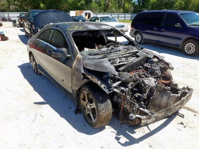 Salvage cars for sale from Copart Ocala, FL: 2014 Mercedes-Benz CLA 250 4M