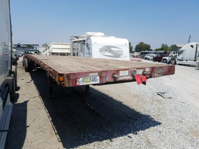 Great Dane salvage cars for sale: 1999 Great Dane Flatbed