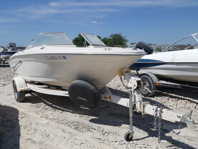 Sea Ray salvage cars for sale: 2002 Sea Ray 182