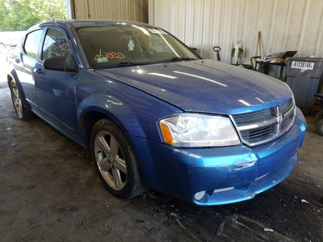 Salvage cars for sale from Copart Lyman, ME: 2008 Dodge Avenger SX