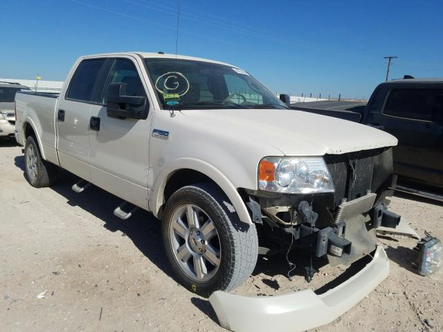 Salvage cars for sale from Copart Andrews, TX: 2008 Ford F150 Super