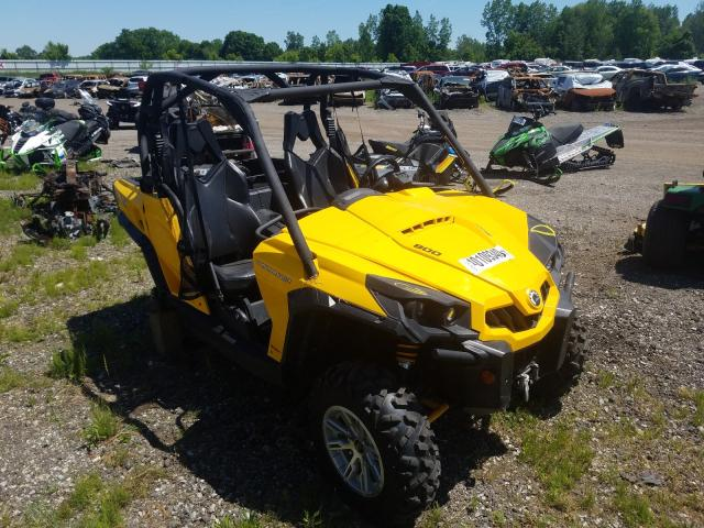 Can-Am Commander salvage cars for sale: 2014 Can-Am Commander
