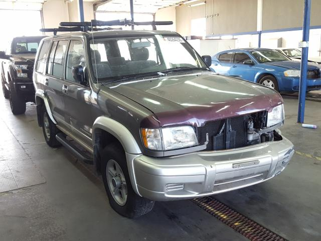 Salvage cars for sale from Copart Pasco, WA: 2000 Isuzu Trooper S