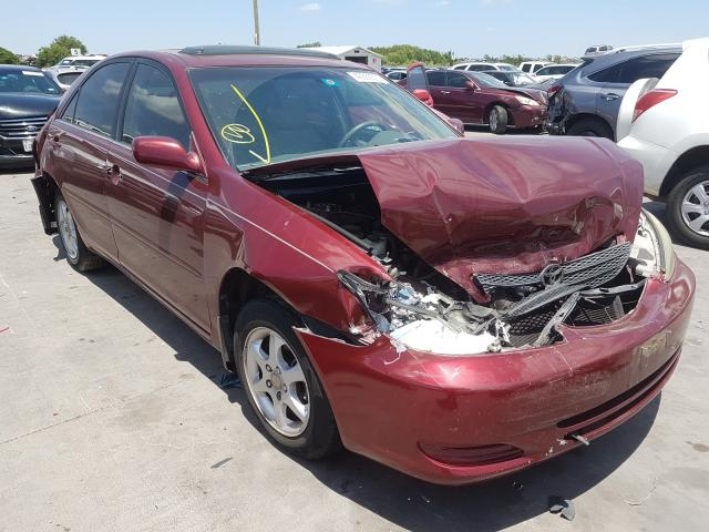 Salvage cars for sale from Copart Grand Prairie, TX: 2002 Toyota Camry LE
