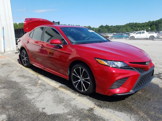 Salvage cars for sale from Copart Savannah, GA: 2020 Toyota Camry SE