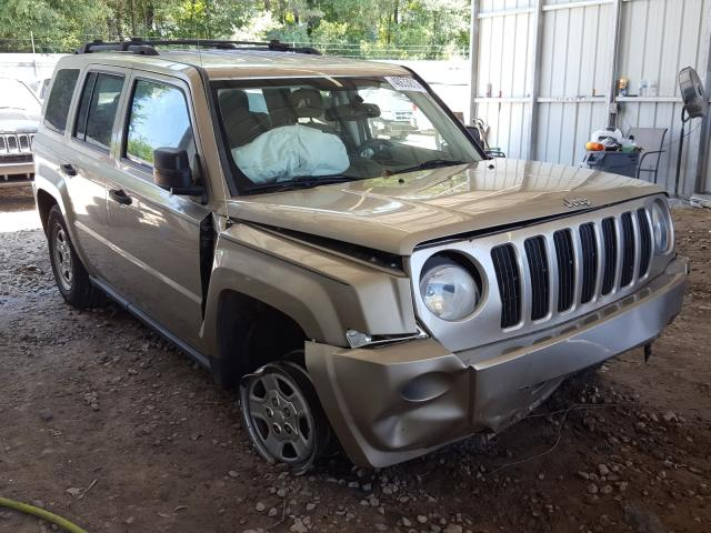 Salvage cars for sale from Copart Midway, FL: 2009 Jeep Patriot SP