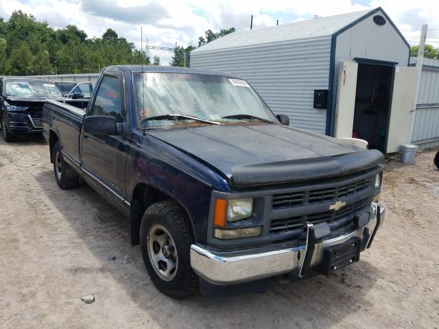 Salvage cars for sale from Copart Charles City, VA: 1996 Chevrolet GMT-400 C1