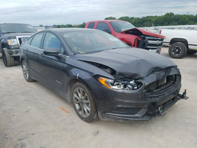 Salvage cars for sale from Copart Oklahoma City, OK: 2017 Ford Fusion SE