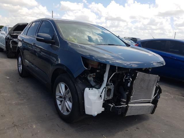 Ford Edge SEL salvage cars for sale: 2016 Ford Edge SEL