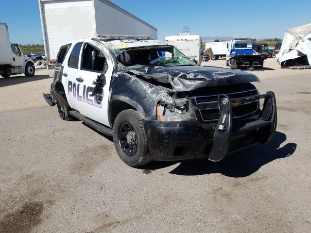 Salvage cars for sale from Copart Tucson, AZ: 2014 Chevrolet Tahoe Police