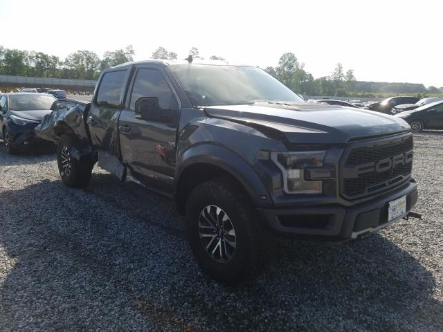 Salvage cars for sale from Copart Spartanburg, SC: 2019 Ford F150 Rapto