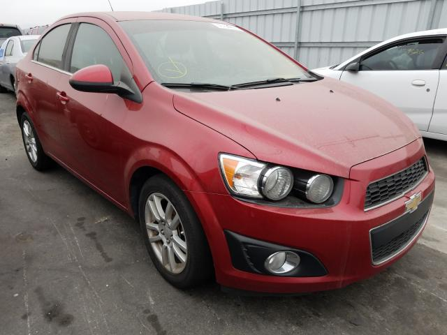 Salvage cars for sale from Copart Colton, CA: 2015 Chevrolet Sonic LT