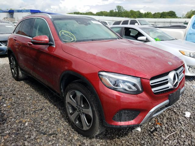Mercedes-Benz GLC 300 4M salvage cars for sale: 2017 Mercedes-Benz GLC 300 4M