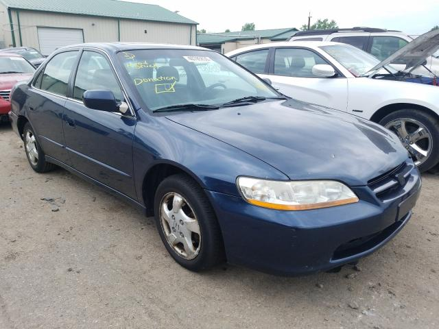 Salvage cars for sale from Copart Ham Lake, MN: 1999 Honda Accord EX