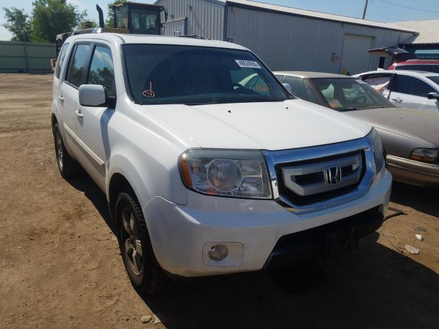 Honda Pilot EXL salvage cars for sale: 2010 Honda Pilot EXL