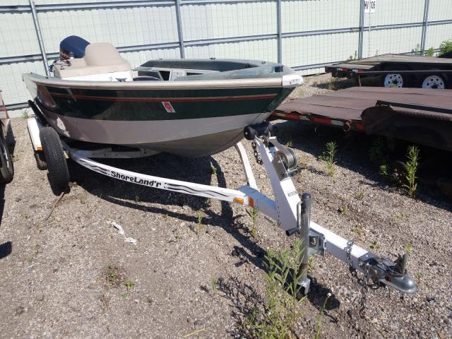 Salvage cars for sale from Copart Pekin, IL: 1998 Princecraft Boat
