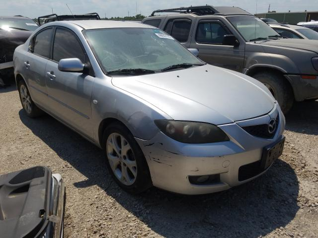 Salvage cars for sale from Copart Houston, TX: 2008 Mazda 3 I