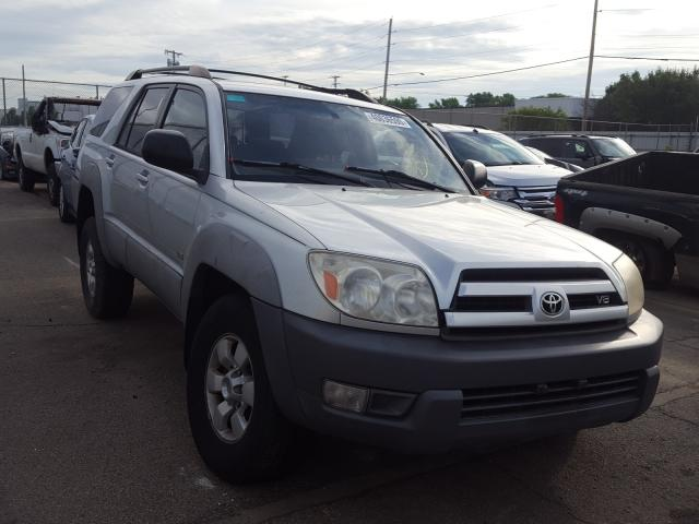 Salvage cars for sale from Copart Moraine, OH: 2003 Toyota 4runner SR