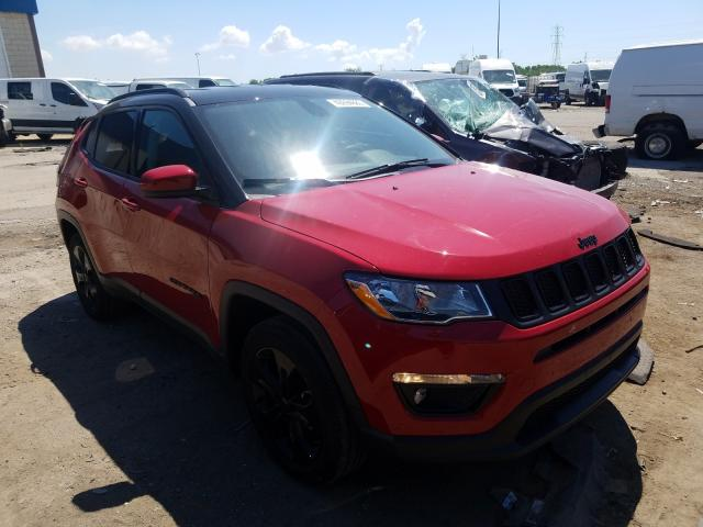 Salvage cars for sale at Woodhaven, MI auction: 2020 Jeep Compass LA