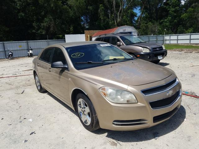 Salvage cars for sale from Copart Ocala, FL: 2008 Chevrolet Malibu LS