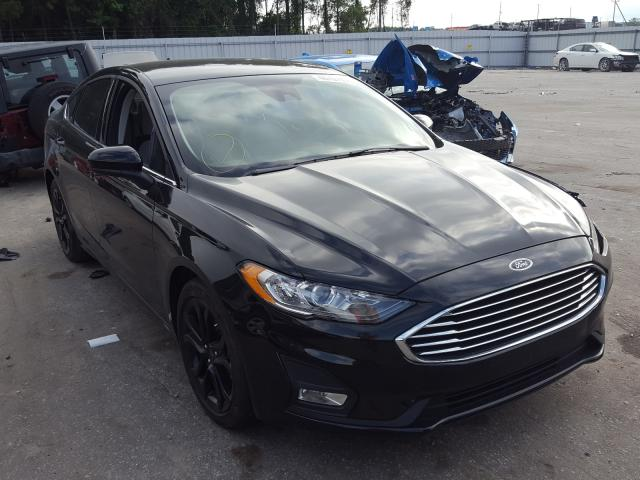 Salvage cars for sale from Copart Dunn, NC: 2019 Ford Fusion SE