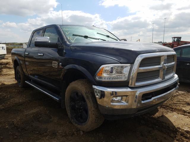 Salvage cars for sale from Copart Nisku, AB: 2016 Dodge RAM 2500 Longh