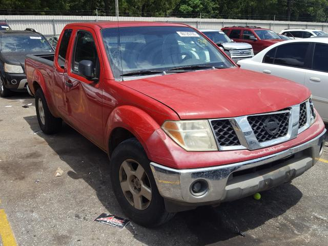 Nissan Frontier K salvage cars for sale: 2005 Nissan Frontier K