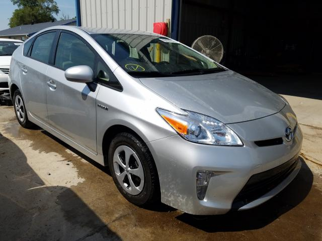 Salvage cars for sale from Copart Sikeston, MO: 2014 Toyota Prius