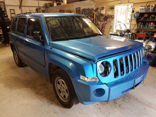 Jeep Patriot SP salvage cars for sale: 2008 Jeep Patriot SP