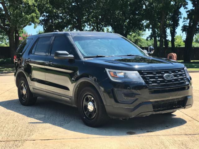 Ford Explorer P salvage cars for sale: 2017 Ford Explorer P