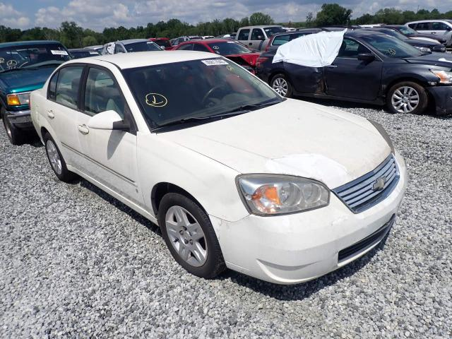 Salvage cars for sale from Copart Spartanburg, SC: 2006 Chevrolet Malibu LT