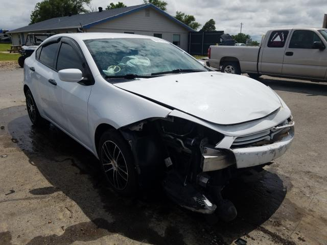 Salvage cars for sale from Copart Sikeston, MO: 2013 Dodge Dart SE
