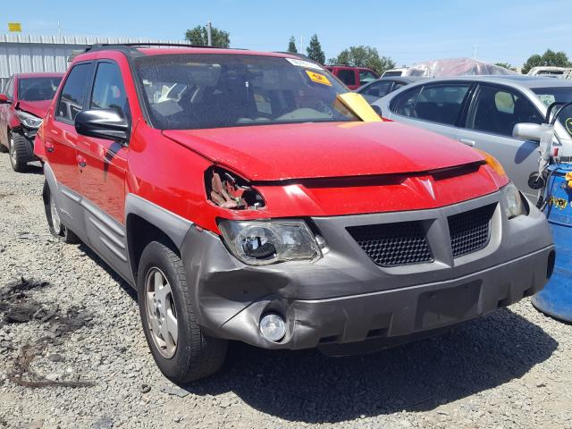 Pontiac Aztek salvage cars for sale: 2001 Pontiac Aztek
