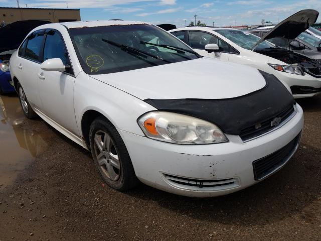 Salvage cars for sale from Copart Rocky View County, AB: 2011 Chevrolet Impala LS