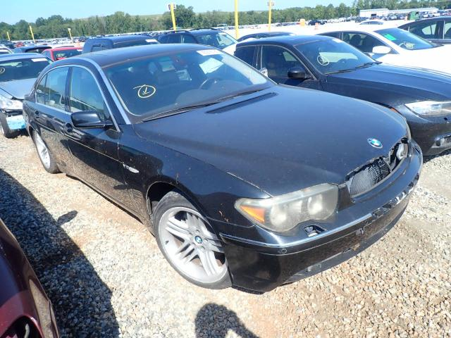 Salvage cars for sale from Copart Spartanburg, SC: 2004 BMW 760 LI