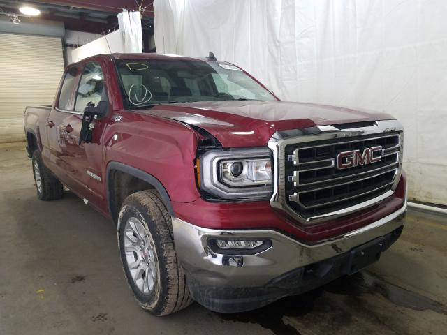 Salvage cars for sale from Copart Central Square, NY: 2018 GMC Sierra K15
