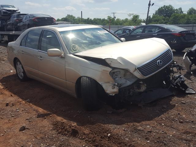 Salvage cars for sale from Copart Marlboro, NY: 2002 Lexus LS 430
