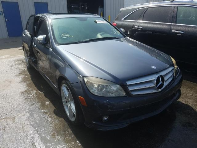 Mercedes-Benz C 350 salvage cars for sale: 2008 Mercedes-Benz C 350