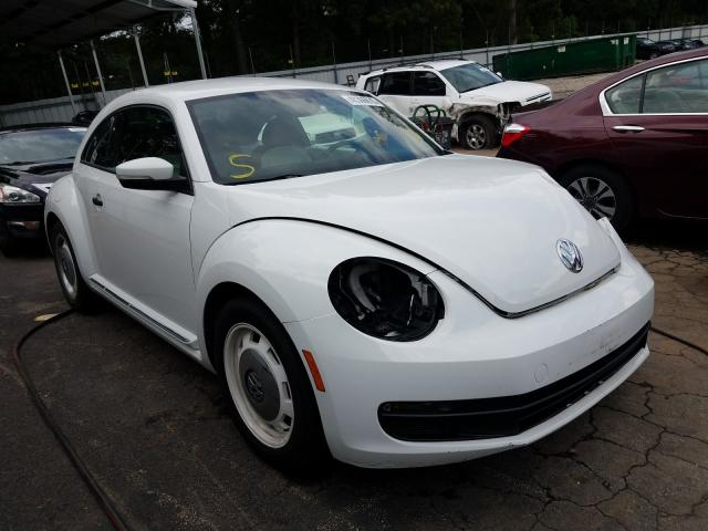 Salvage cars for sale from Copart Austell, GA: 2016 Volkswagen Beetle 1.8