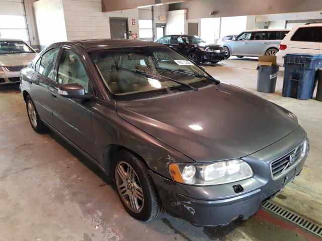 Volvo salvage cars for sale: 2007 Volvo S60 2.5T