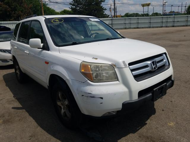 Salvage cars for sale from Copart Moraine, OH: 2006 Honda Pilot EX