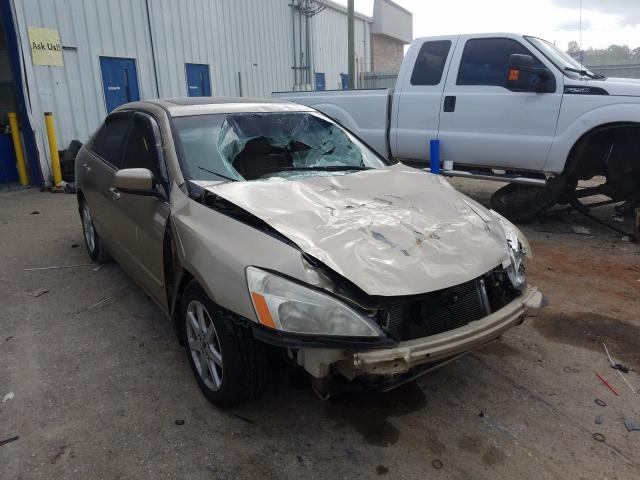 Honda Accord EX salvage cars for sale: 2004 Honda Accord EX