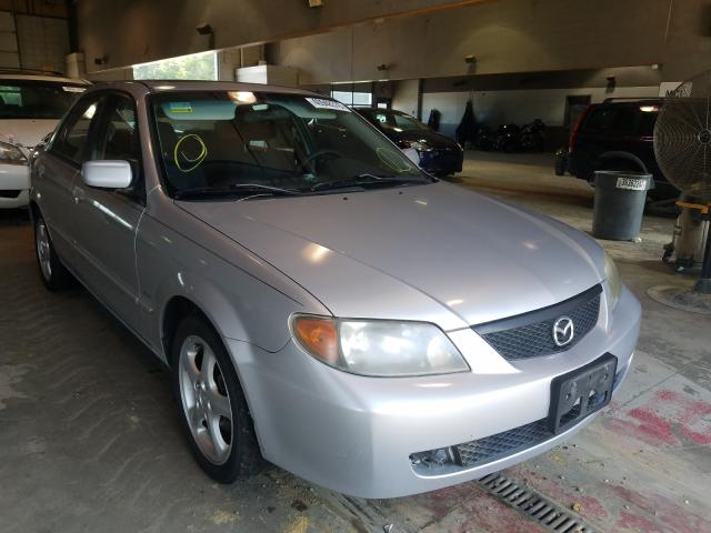Salvage cars for sale from Copart Sandston, VA: 2002 Mazda Protege DX