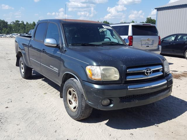 Salvage cars for sale from Copart Midway, FL: 2006 Toyota Tundra DOU