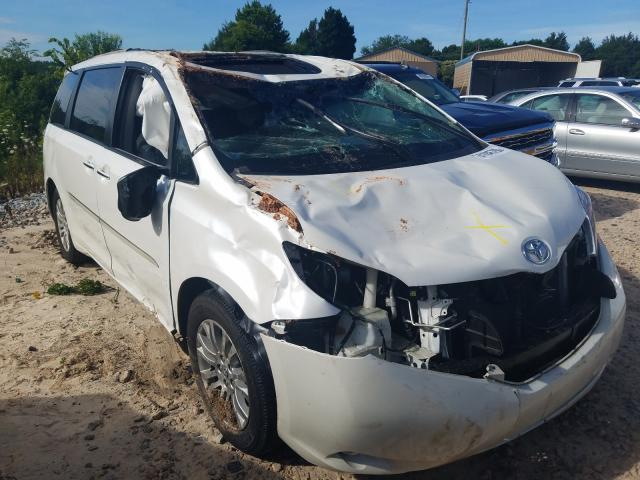 2017 toyota sienna xle photos nc china grove salvage car auction on tue oct 27 2020 copart usa copart