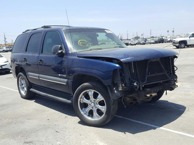 Chevrolet Tahoe C150 salvage cars for sale: 2003 Chevrolet Tahoe C150